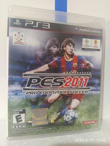 Imagem 1 de 3 de  Pes 2011 Pro Evolution Soccer Ps3 Original Com Encarte