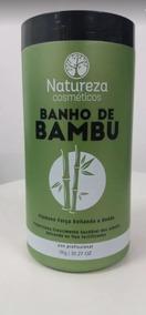 Mascara De Hidratacao Banho De Bambu Natureza Cosméticos 1k