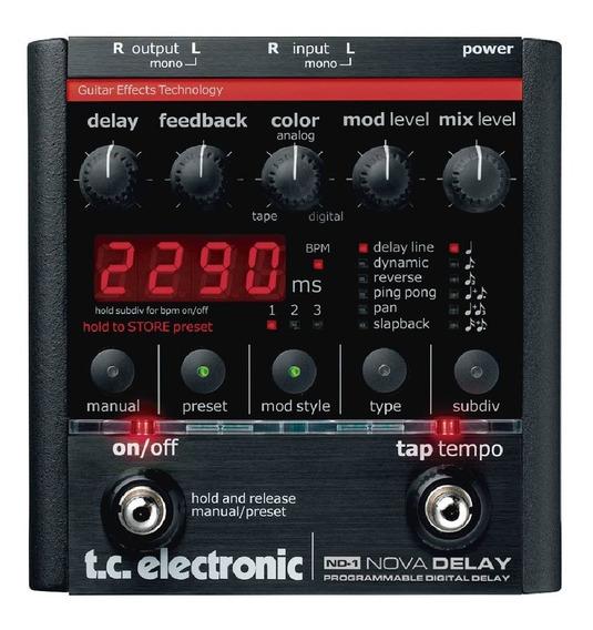 Pedal Nd-1 Nova Delay - Tc Electronic
