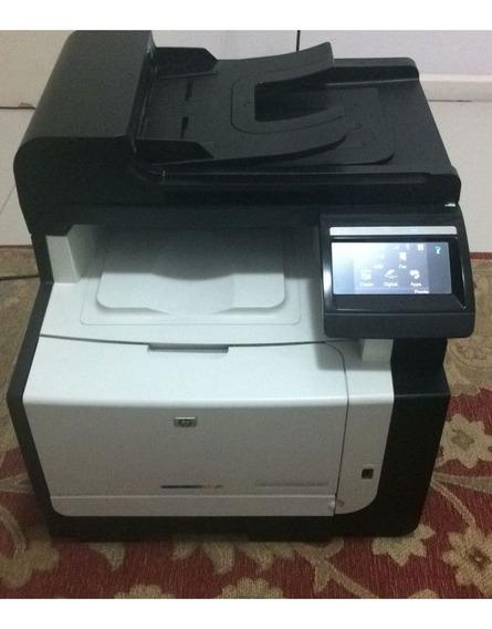 Impressora Cm1415fn Multifuncional Cor Laser Laserjet Pro