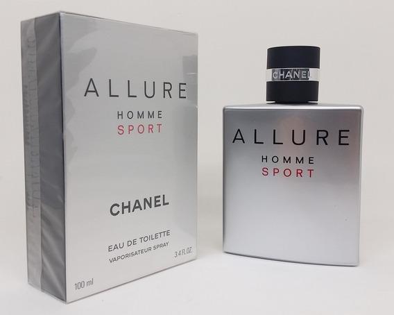 Perfume Allure Homme Sport 100ml Chanel Original Lacrado