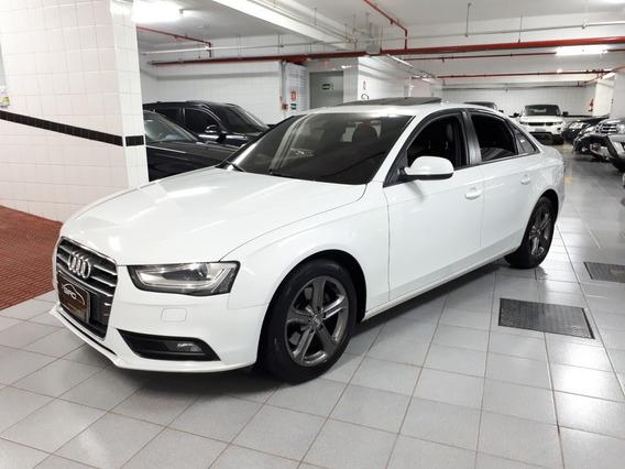 Audi A4 Ambiente 2.0 Turbo 2013 Branca Teto Solar Muito Nova