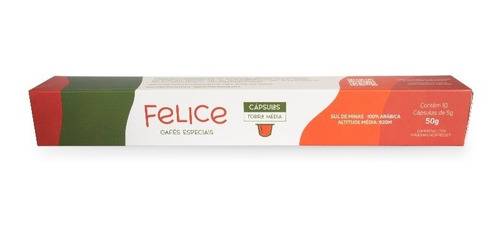 Café Felice 10 Cápsulas