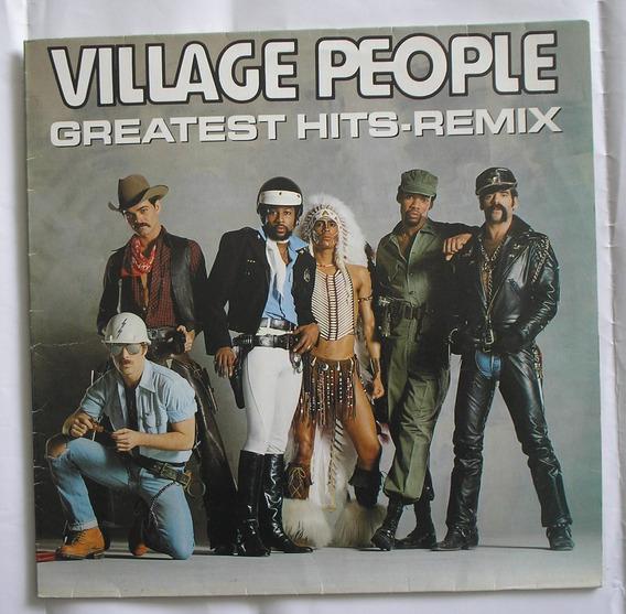 Lp Vinil Village People Greatest Hits Remix 1989 Novo