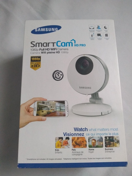 Câmera Para Residência Samsung Wi-fi Full Hd + Câmera D-link