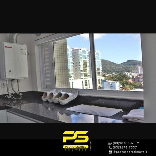Apartamento Com 3 Dormitórios À Venda, 162 M² Por R$ 1.600.000 - Castelo Branco - Itapema/sc - Ap4116