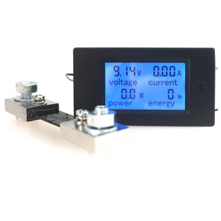 Wattimetro, Voltimetro, Amperimetro Dc 6,5~100v 100a C/shunt