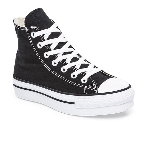 Botitas Converse All Star Plataforma Negro! Exclusiva Dama
