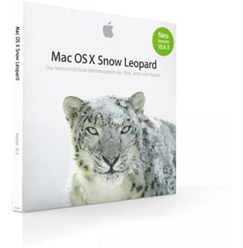 Mac Os X Snow Leopard 10.6.3 Original Retail