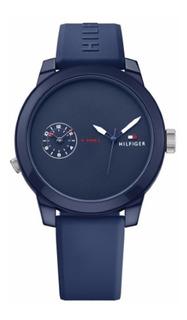 Reloj Tommy Hilfriger Hombre Denim 1791325 Envio Gratis Garantia Oficial