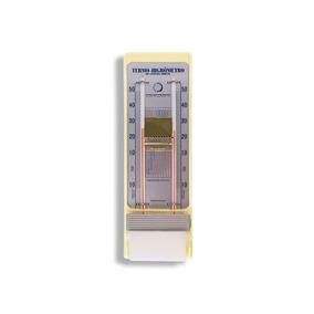 Termo-higrômetro Bulbo Seco E Umido -10+50:1c Leitura Direta
