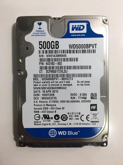 Disco Duro Laptop 500gb Western Digital Wd Blue Sata