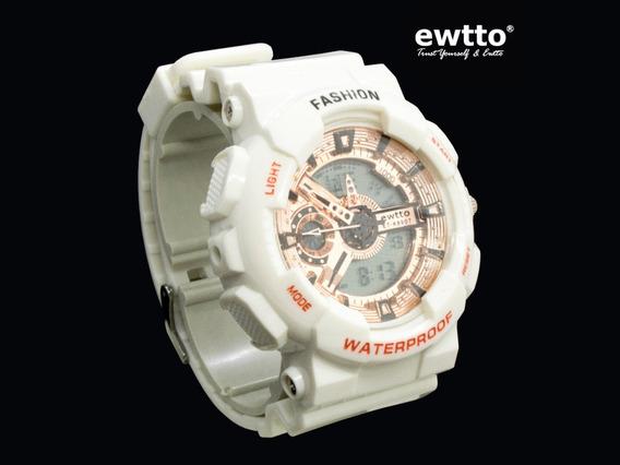 Reloj Ewtto Deportivo Acuático Para Hombre - En 6 Colores