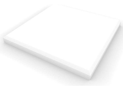 Imagen 1 de 6 de Panel Acústico Premium Blanco Ignifugo - Liso 25mm