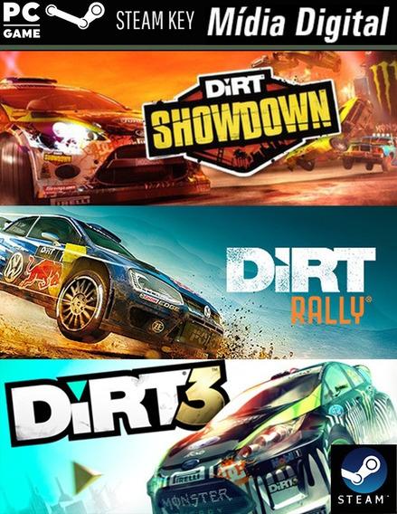 Pc Dirt 3/ Dirt: Showdown/ Dirt Rally - Steam Key- M Digital