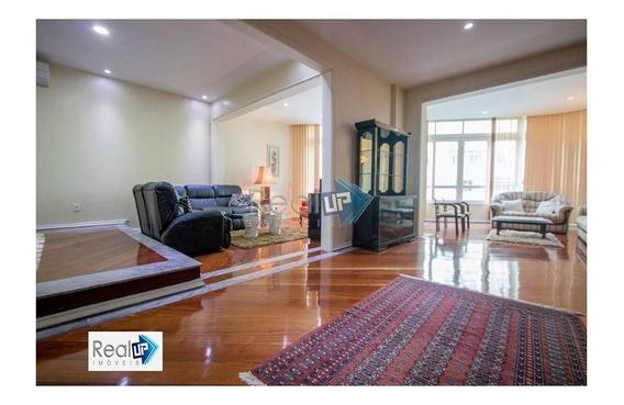 Apartamento 4 Quartos, Com Vaga, 220m2, Copacabana, Perto Do Metrô. - 12788