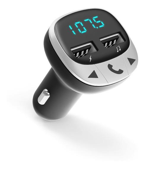 Energy Sistem Energy Car FM microSD, Carga USB, USB MP3 Negro Transmisor FM para veh/ículos
