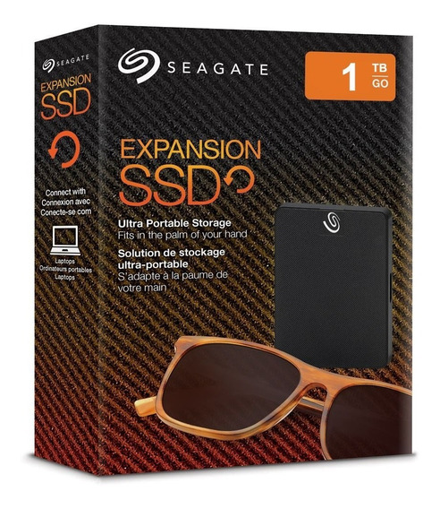 Disco Solido Ssd Usb 1 Tb Seagate Expansion Externo