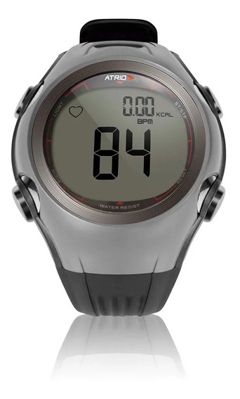 Relógio Monitor Cardíaco Multilaser Frequencímetro Calorias + Cinta Transmissora Cardíaca Atrio Hc008