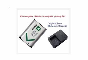 Kit Bateria + Carregador Sony Original Np-bx1 Hx300 Rx1 As15