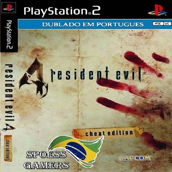 Resident Evil 4 Dublado Com Cheat Edition Pt-br Patch