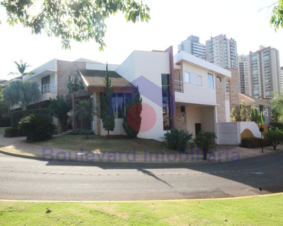 Aluga-se Casa De Condomínio Com 04 Suítes No Jardim Botânico Em Ribeirão Preto - 41007525 - 33770869