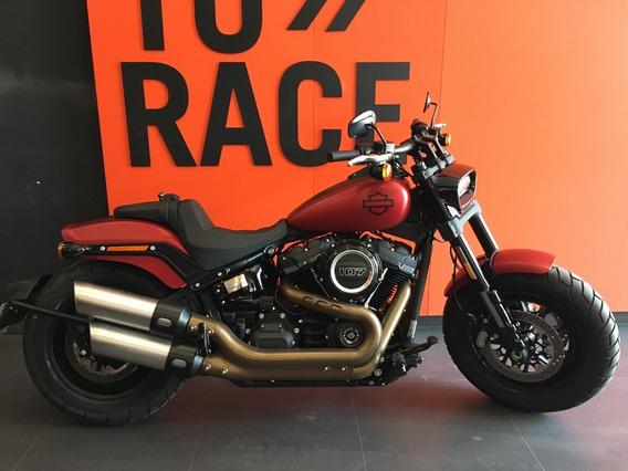 Harley Davidson - Fat Bob 107 - Vermelha