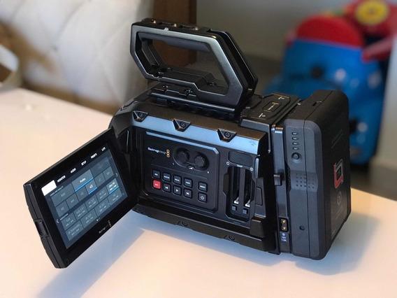 Camera Blackmagic Ursa Mini 4.6k Com Acessórios