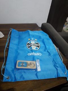 Chaveiro E Sacola Do Grêmio