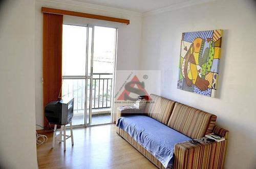 Apartamento Com 2 Dormitórios, 50 M² - Venda Por R$ 223.000,00 Ou Aluguel Por R$ 1.400,00/mês - Vila Santa Teresa (zona Sul) - São Paulo/sp - Ap34519