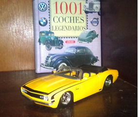 Chevy Camaro Ss Descapotable 1967 Escala 1/24 Coleccion Jada