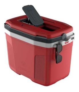 Caixa Térmica 32 Litros Termolar Cinza - Vermelha Ou Azul