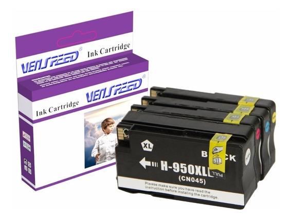 Cartucho Compatible Hp 950 Xl 951 Xl Negro Y Colores