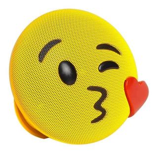 Parlante Speaker Bluetooth Portátil Jamoji Kiss Beso Risa