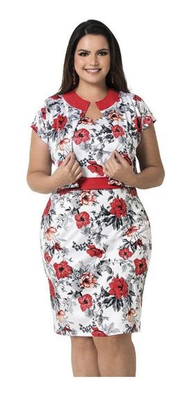 Vestido Plus Size Moda Evangelica