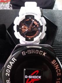 Relógio G-shock Ga-110 Rg-7adr Branco A Pronta Entrega!