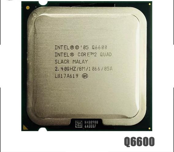 Processador Quad Core Q6600 775