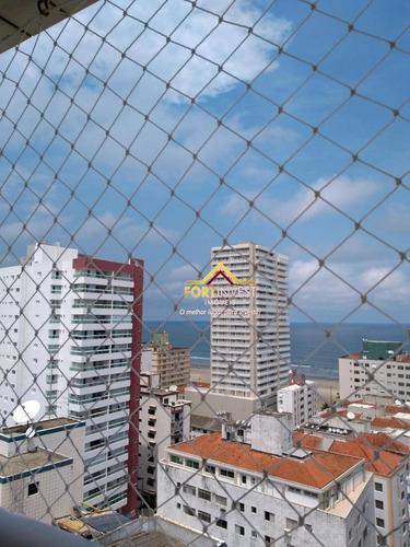 Apartamento Com 2 Dormitórios À Venda, 76 M² Por R$ 330.000,00 - Aviação - Praia Grande/sp - Ap0222
