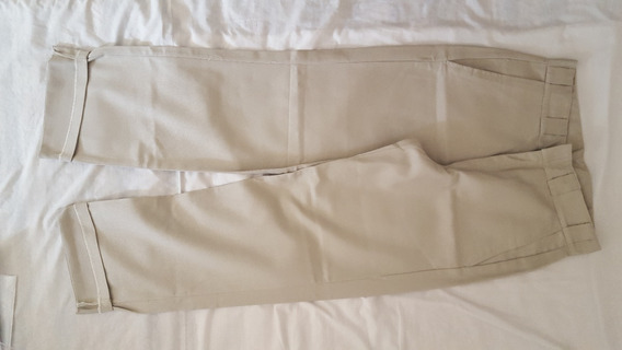 Pantalón Dickies Faith Color Beige/crema Talle44 Recto Chino