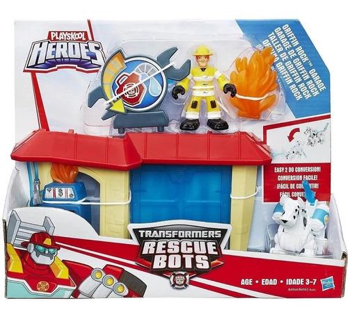 Transformers Rescue Bots: Comisaria Y Garage Griffin