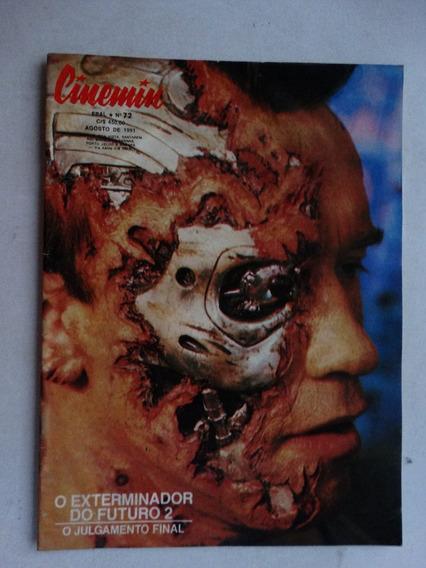 Cinemin Nº 72! 5ª Série! Ebal Agosto 1991!
