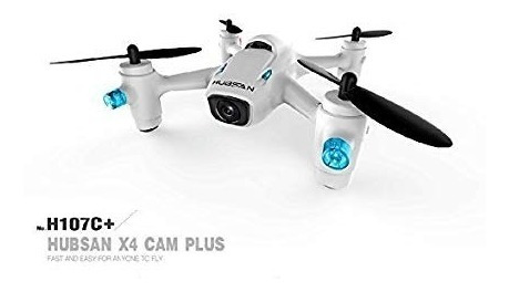 Mini Drone Hubsan X4 Camera Plus H107c+ 2.4g Rc C/came 720p