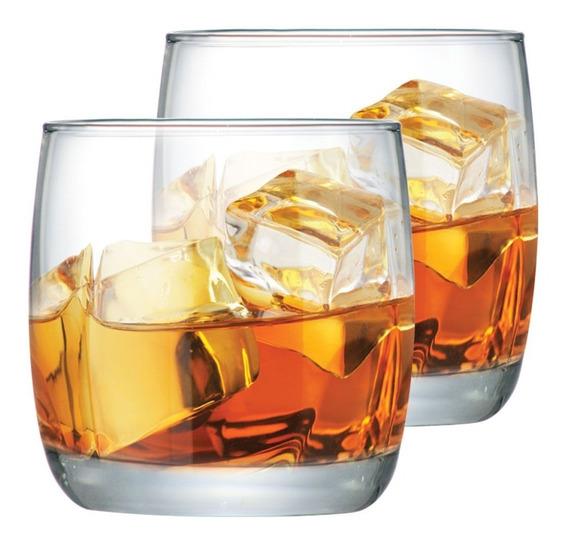 Jogo Copos Whisky Conjunto Kit 2 Peças