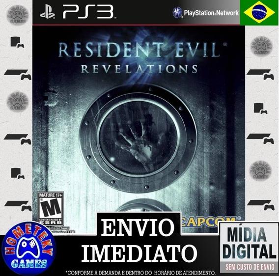 Resident Evil Revelations - Psn Ps3 Leg. Português Br