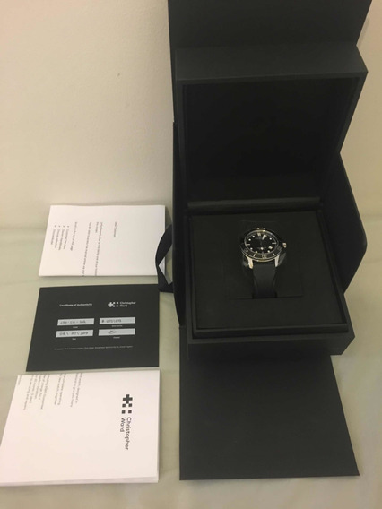 Relógio Christopher Ward Trident Csi Edição Especial 42mm