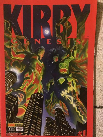 Comics Kirby Génesis 1 Y2 En Español