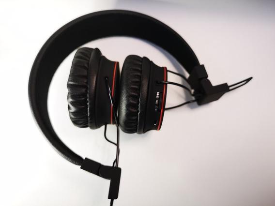 Fone De Ouvido Bluetooth 4.0semfio Cartão Sd Fm P2 Sh-x2