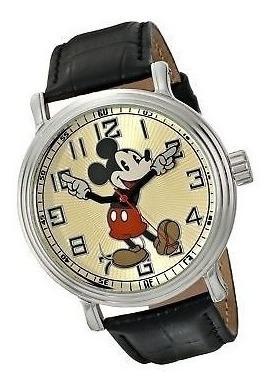 Reloj Disney Vintage De Mickey Mouse P/hombre | Original