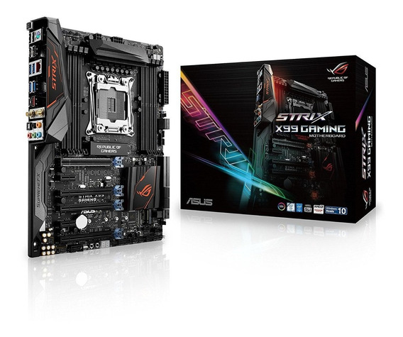 Placa Mae Asus Rog Strix X99 Gaming Lga 2011-v3 Intel X99