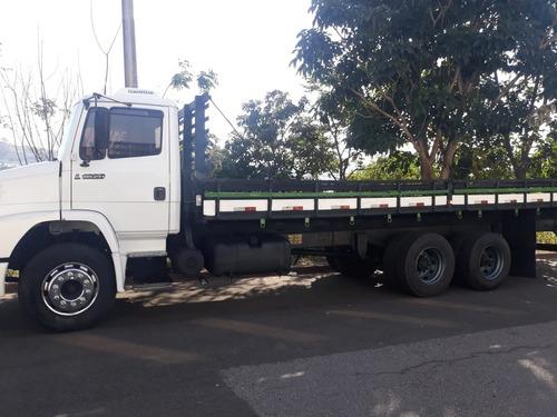 Imagem 1 de 12 de Mb 1620 Truck Carroceria De Madeira 8m 1998